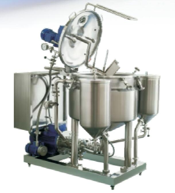 Vacuum emulsifying & batch